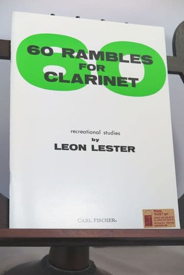 Lester L - 60 Rambles for Clarinet